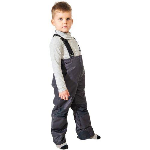Купить Брюки Филиппок 6049 размер 98 цвет темно -серый, Полукомбинезоны и брюки