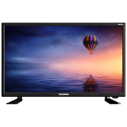Фото - Телевизор TELEFUNKEN TF-LED24S19T2 23.6, черный телевизор telefunken 23 6 tf led24s19t2 черный