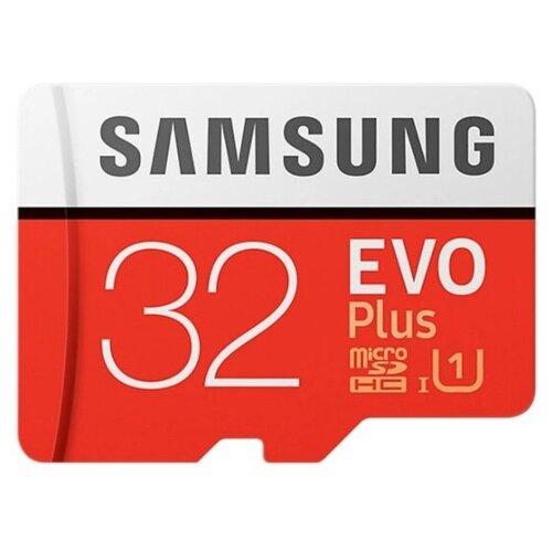 Фото - Карта памяти Samsung Micro SD 32 Гб (10 class) + SD адаптер карта памяти samsung micro sd 32 гб 10 class sd адаптер
