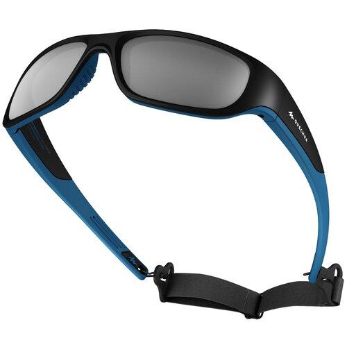 очки солнцезащитные для походов детские mh k120 2–4 лет категория 4 quechua x декатлон Очки солнцезащитные походные MHT550 детские на 10 лет и больше, кат. 4 QUECHUA X Декатлон