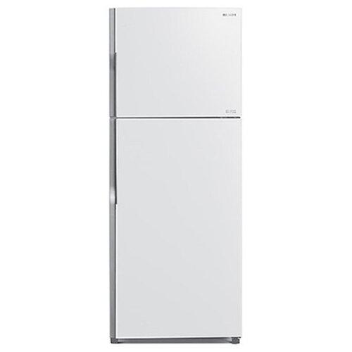 Двухкамерный холодильник Hitachi R-VG 472 PU8 GPW белое стекло