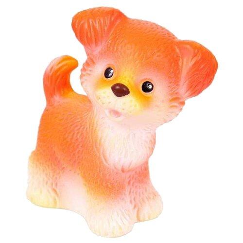 Фото - Игрушка для ванной ОГОНЁК Щенок Шалун (С-352) бежевый/оранжевый игрушка для ванной огонёк лев бонифаций с 644 оранжевый