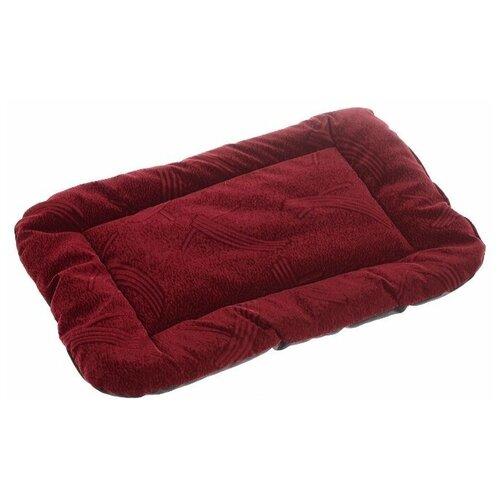Лежак для собак и кошек Зоо Марк Матрас №2 38х54 см бордовый