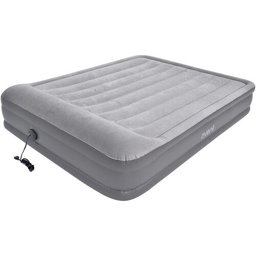 Надувная кровать Jilong Queen 27492EU светло-серый