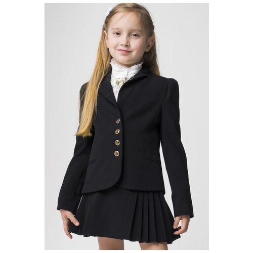 Жакет Маленькая Леди размер 122, черный cms 20 40фигурка маленькая леди pavone