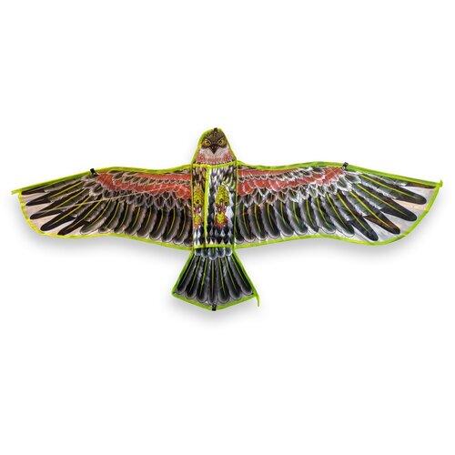 Воздушный Змей Орёл BestToy Красно-чёрный 115см