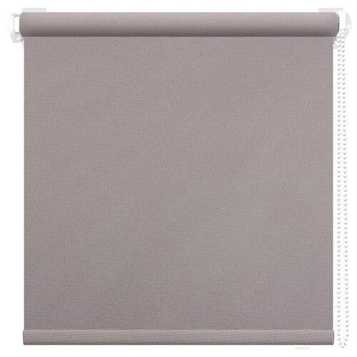 Рулонная штора АС Форос Плейн (Светло-cерый), 38х175 см