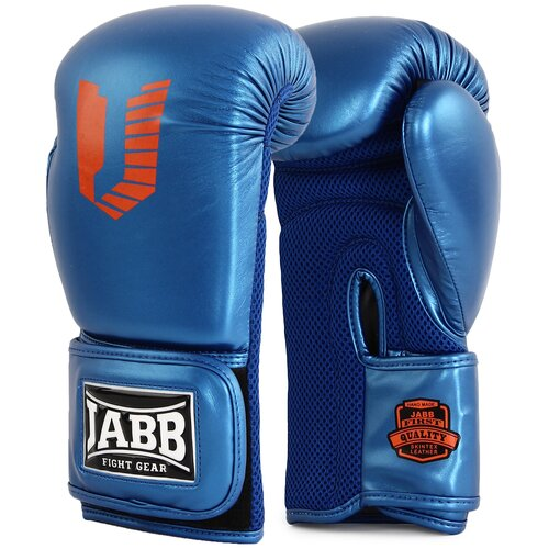 Перчатки бокс.(иск.кожа) Jabb JE-4056/Eu Air 56 синий 12ун.