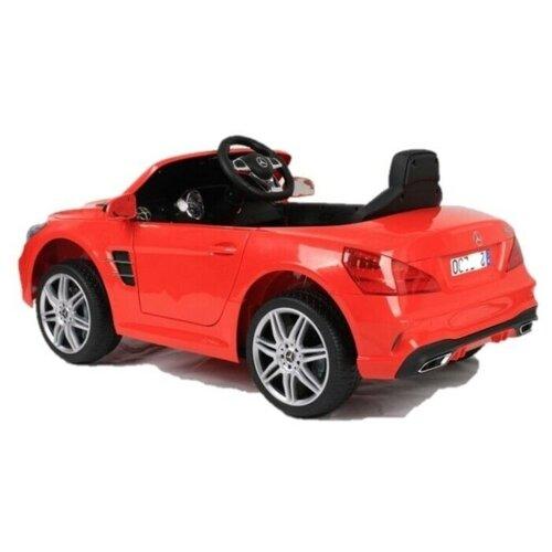 электромобили harleybella mercedes benz sl500 Детский электромобиль MERCEDES-BENZ SL500 Harleybella S301-R Красный