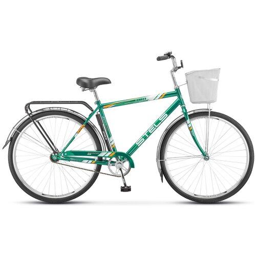 """Городской велосипед STELS Navigator 300 Gent 28 Z010 (2021) зеленый 20"""" (требует финальной сборки)"""