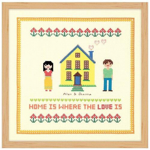 Купить Набор для вышивания Дом желтого цвета XIU Crafts 2870709, Наборы для вышивания
