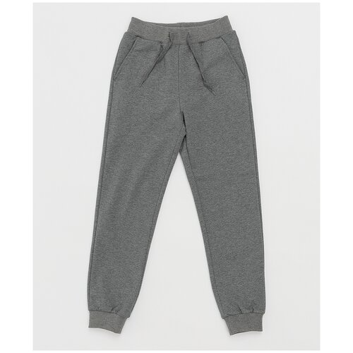 Купить Серые брюки Button Blue 121BBBB56012300 размер 140, Брюки