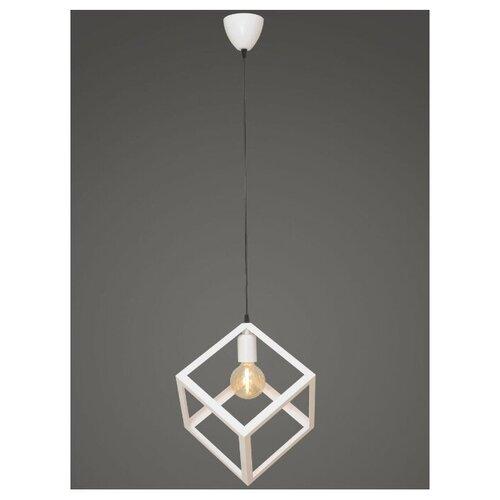 Подвесной светильник Северный свет Куб, белый