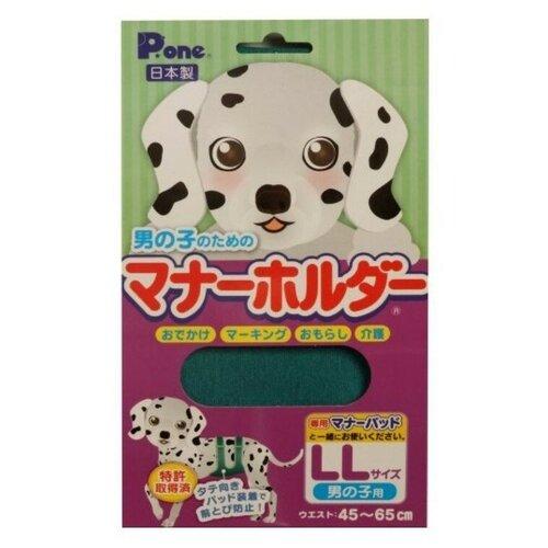 Пояс для кобелей многоразовый впитывающий Japan Premium Pet PMH-015 зеленый