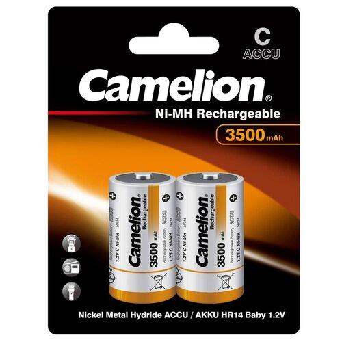 Фото - Аккумулятор Ni-Mh 3500 мА·ч Camelion NH-C3500, 2 шт. аккумулятор ni mh 1000 ма·ч camelion nh aaa1100 2 шт