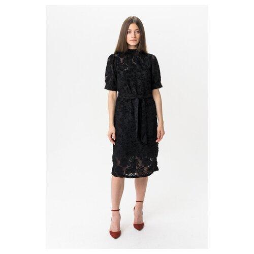 Кружевное платье Vero moda 10220230 женское Цвет Черный Black Однотонный р-р 42 XS майка vero moda 10212778 размер xs черный