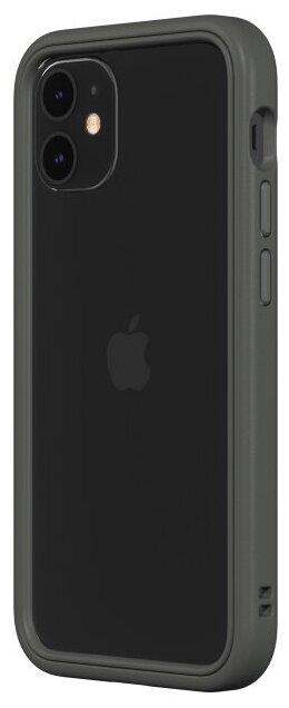 Чехол-бампер RhinoShield CrashGuard NX серый для Apple iPhone 12 mini — купить по выгодной цене на Яндекс.Маркете