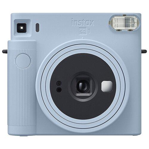 Фотоаппарат моментальной печати Fujifilm Instax Square SQ1, голубой ледник фотоаппарат fujifilm instax square sq6 ruby red