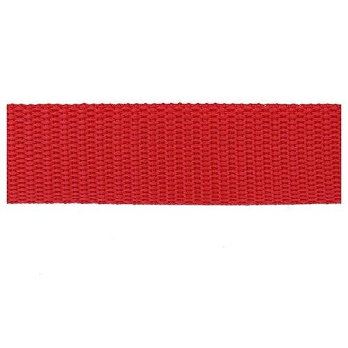 Купить С3713Г17 Стропа-30 30мм*2, 5м, 5шт, 15, 8 г/м (10 красный) 5 шт, Красная лента, Технические ленты и тесьма