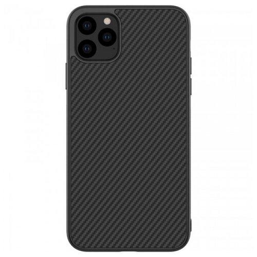 Nillkin Synthetic Fiber Чехол с карбоновой текстурой для iPhone 11 Pro Max чехол для iphone 7 plus nillkin synthetic fiber черный