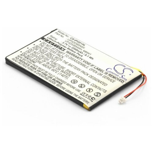 Аккумулятор для mp3 плеера Apple iPod 1G, 2G