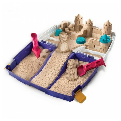Kinetic Sand Набор для лепки Кинетический песок Песочница