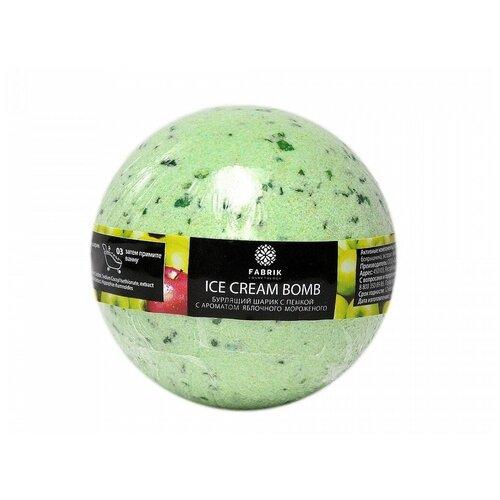 Купить Бурлящий шарик Fabrik Cosmetology Яблочное мороженое 120g 4631141747293