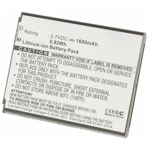 Аккумулятор iBatt iB-U2-M1099 1600mAh для Samsung SM-G3502, SM-G3502i, SM-G3500, SM-G3502U, SM-G3508, SM-G3508i, SM-G3508j, SM-G3509,