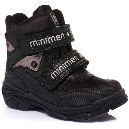 Ботинки MINIMEN размер 31, черный