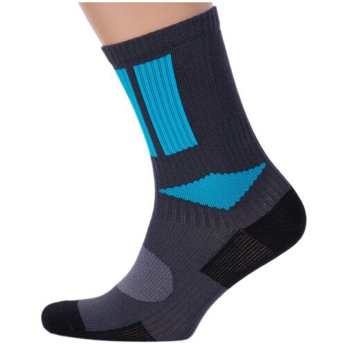 Мужские спортивные носки Брестские темно-серые, размер 25 (40-41)