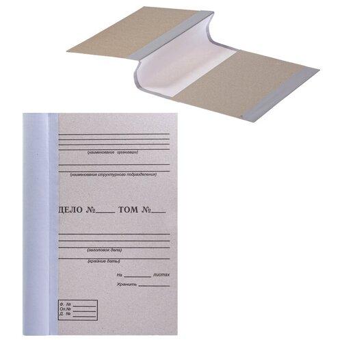Папка архивная для переплета OfficeSpace,100мм, без клапанов, переплетный картон, корешок - бумвинил, 50 шт.