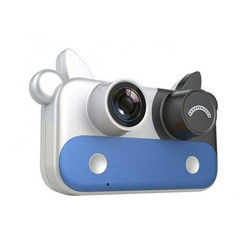 Фото - Детский цифровой фотоаппарат, синий детский цифровой фотоаппарат собачка розовый kids camera pink