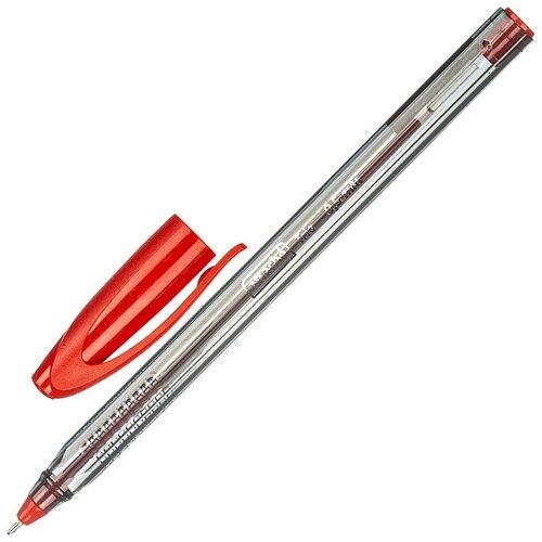 Купить Ручка шариковая неавтоматическая Attache Glide Trio 0, 5мм, крас. Масл 15 штук, Ручки