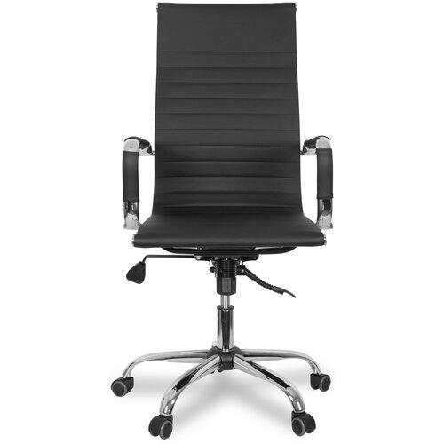 Компьютерное кресло College CLG-620 LXH-A для руководителя, обивка: искусственная кожа, цвет: черный