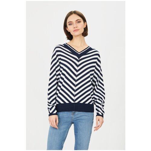 Пуловер Baon, размер XS, dark navy striped