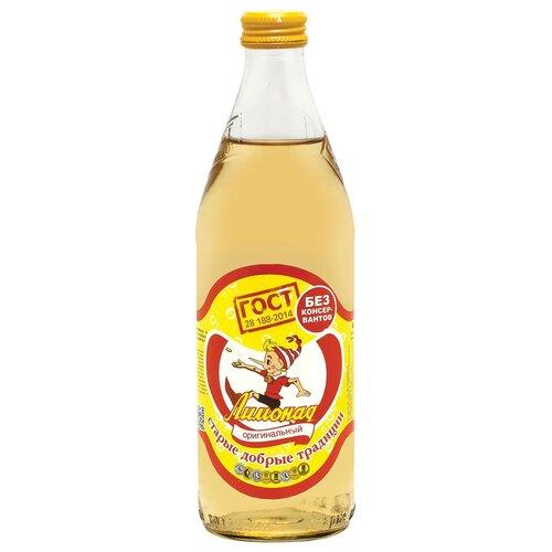 Газированный напиток Старые добрые традиции Лимонад оригинальный, 0.5 л