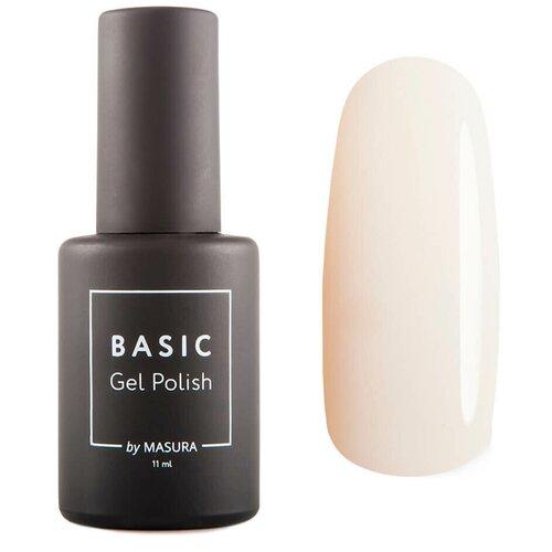 Гель-лак для ногтей Masura Basic, 11 мл, Ванильное Безе гель лак для ногтей masura basic 11 мл саргассово море
