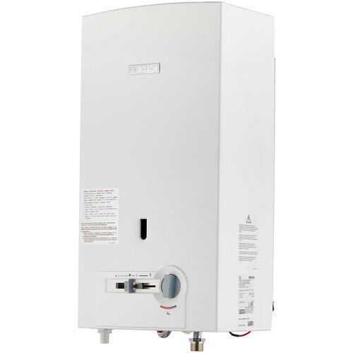 Фото - Проточный газовый водонагреватель Bosch WR 10-2P23, белый проточный газовый водонагреватель bosch wrd 13 2g23
