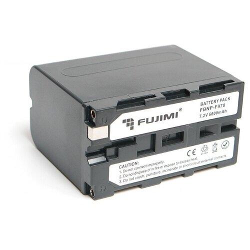 Фото - Fujimi FBNP-F970 Аккумулятор для фото-видео камер fujimi lp e17 зу аккумулятор для фото и видео камер в комплекте с зу
