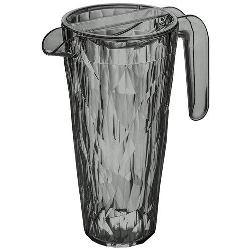 Кувшин Koziol Club Superglas 1.5 л Transparent Grey