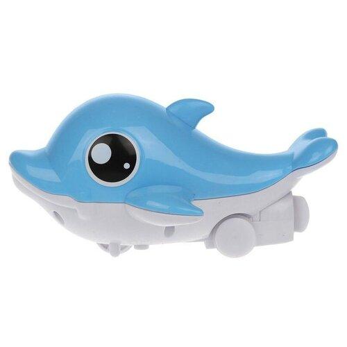 Фото - Робот Ming Xing Toys Дельфин MX-0026-5 голубой/белый ming xing toys водный синий