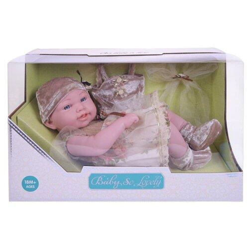 Пупс Junfa toys Baby So Lovely, 38 см, 1916-2 пупс junfa toys baby so lovely 1911 3