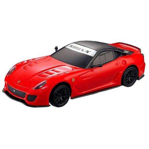 Фото - Легковой автомобиль MJX Ferrari 599XX (MJX-8133) 1:20 24 см красный радиоуправляемые игрушки mjx радиоуправляемый автомобиль 1 20 ferrari california
