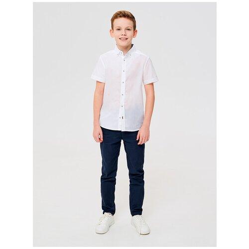 0912134005 Сорочка верхняя детская для мальчиков Pollux-Inf белый (134)