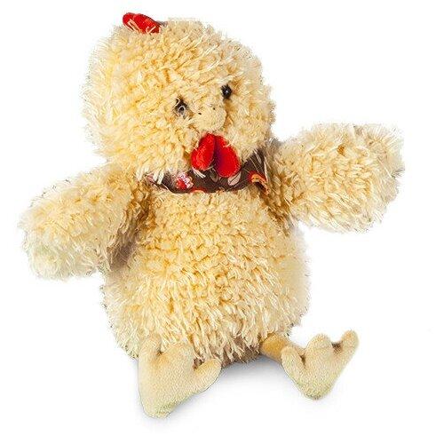 Мягкая игрушка Bebelot Бежевый Петушок с платком 35 см