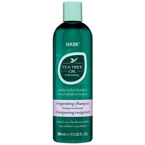 Hask шампунь Tea Tree Oil & Rosemary Invigorating, 355 мл недорого