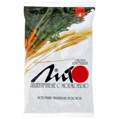 Отруби Лито пшеничные хрустящие с кальцием и морковью, 200 г отруби сибирские пшеничные с черникой 200 г