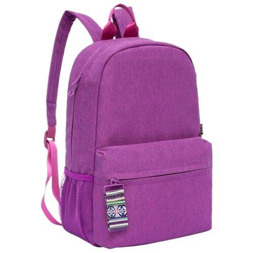 Рюкзак Grizzly RX-942-1 14 violet (RX-942-1/1) рюкзак grizzly rx 022 8 1 перья