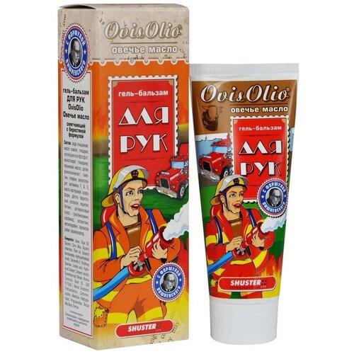 Гель-бальзам для рук OvisOlio Овечье масло с берестяной формулой Вишневского 70 г