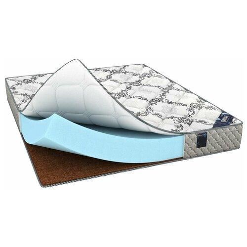 Матрас Dimax Твист Ролл Симпл 19, 70x190 см, белый/серый